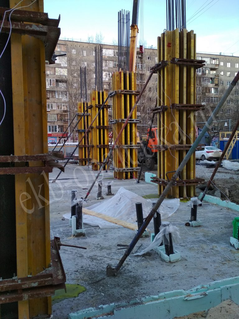балочно-ригельная системы Аренда Екатеринбург