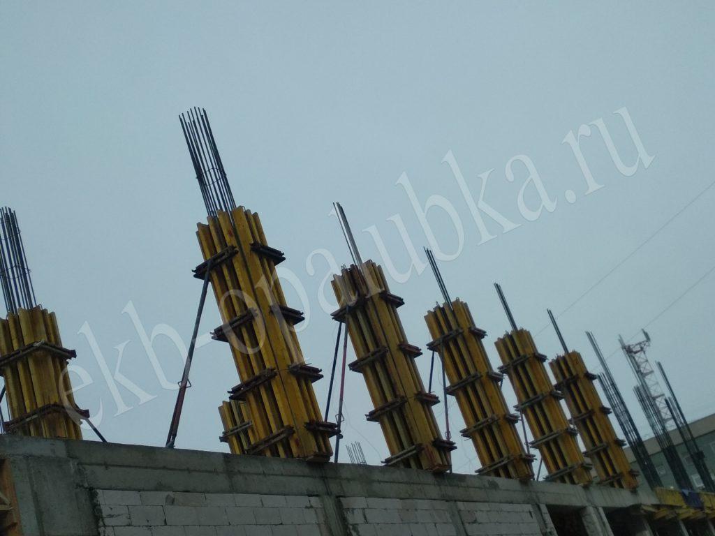 Балочнао-ригельная опалубка колонн аренда